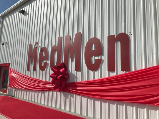 The new MedMen cannabis factory is shown on Wednesday,