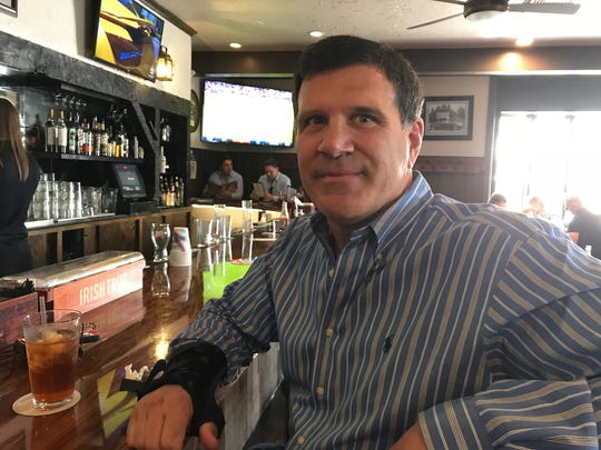 Doug Rotella of Upper Saddle River at the Allendale Bar & Grill on April 13, 2018.