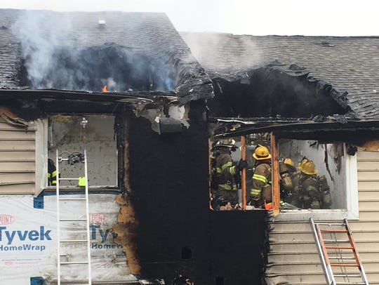A Claymont fire reported shortly after 7:00 am, occurred