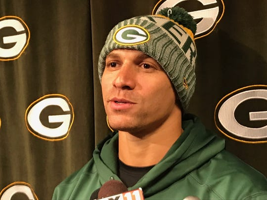 Packers tight end Jimmy Graham answers questions on
