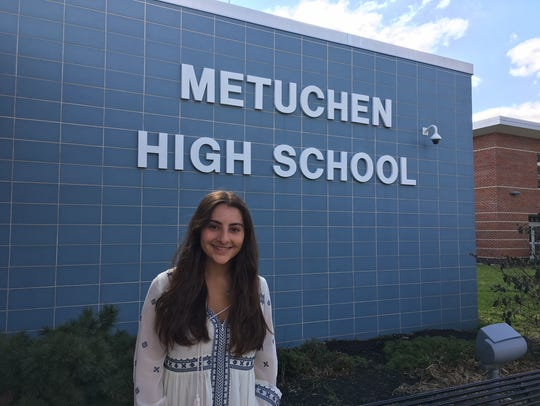 Hannah Silverman, a senior at Metuchen High School,