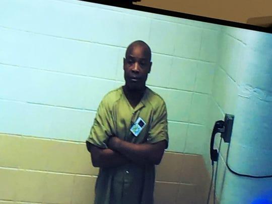 Kelvin Briggs at emergent hearing in Morris County