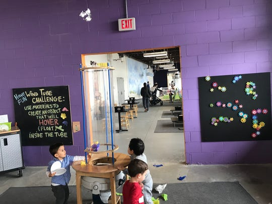 The interior of the Westchester Children's Museum