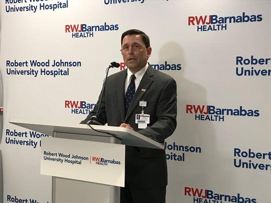 John Gantner, President and CEO, Robert Wood Johnson University Hospital New Brunswick