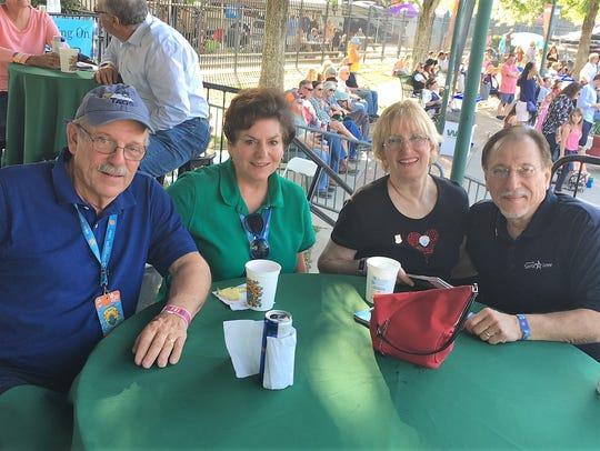 John and Barbara Girard and Barbara and Dale Savoie