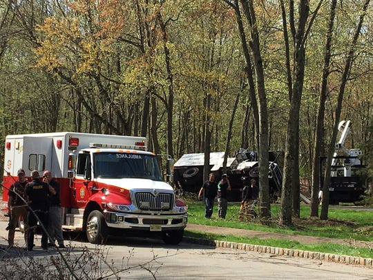 Emergency workers respond to Morris Township on May