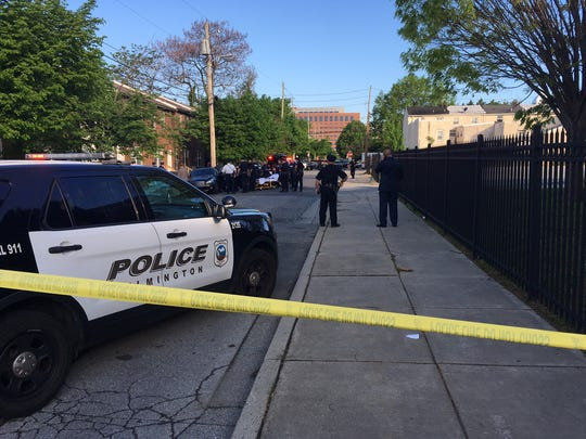Wilmington police is investigating a shooting Monday