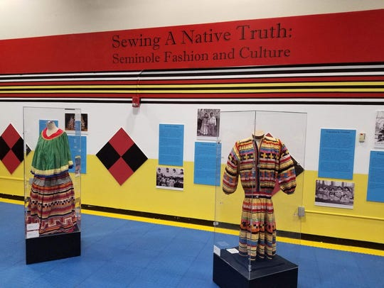 """IMAG's new exhibit, """"Sewing a Native Truth: Seminole"""