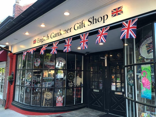 The English Gardener Gift Shop expanded its regular selection of British imports to include commemorative royal wedding mugs, pottery, teas and more.