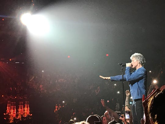 Bon Jovi at Madison Square Garden on May 9, 2018.