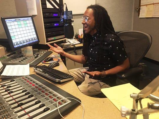 Garrett McQueen found his calling as a radio announcer