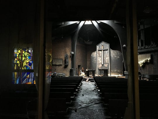 A fire gutted the academy's chapel in May 2018.
