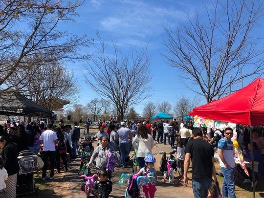 Mercado Esperanza takes place the third Sunday of the month at Joyce Kilmer Park in New Brunswick, Spring to Autumn.