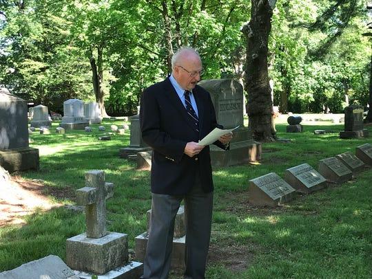 Kearney Kuhlthau, a past  president of Ellmwood Cemetery