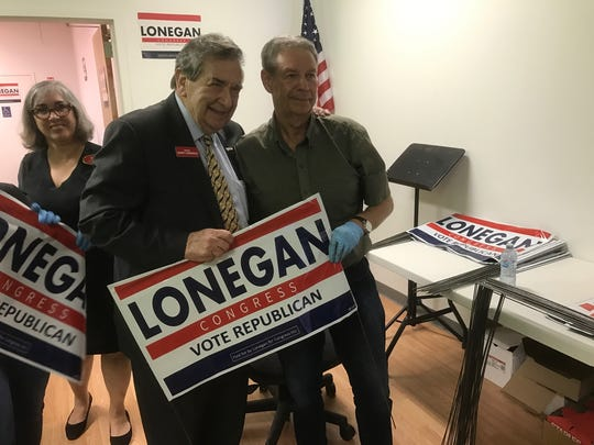 Lonegan has the backing of Sen. Gerry Cardinale, who
