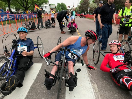 16-year VCM hand cycle veteran Patrick Standen chats