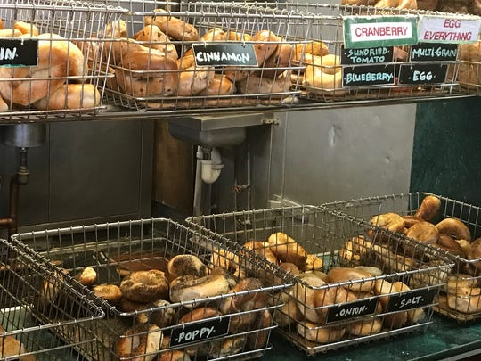 Goldberg's includes cranberry and blueberry bagels,