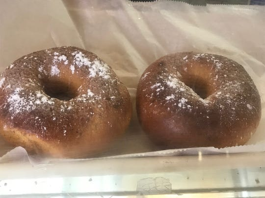 French toast bagels at Goldberg's in Hasbrouck Heights