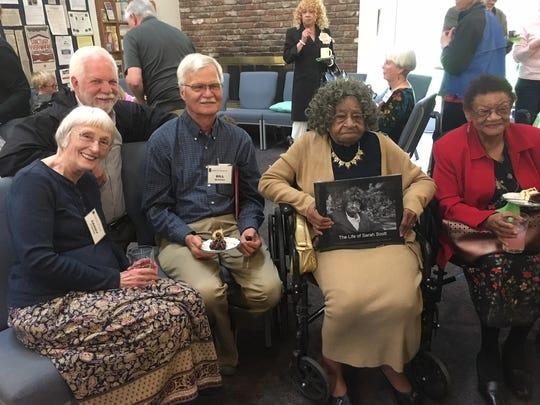 "Sarah Scott celebrates the publication of ""The Life"