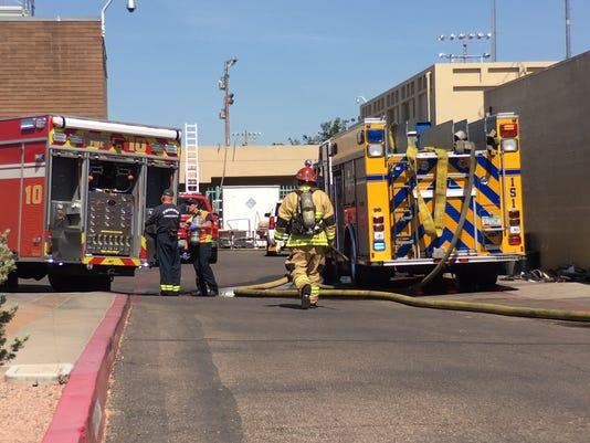 Alhambra High School fire
