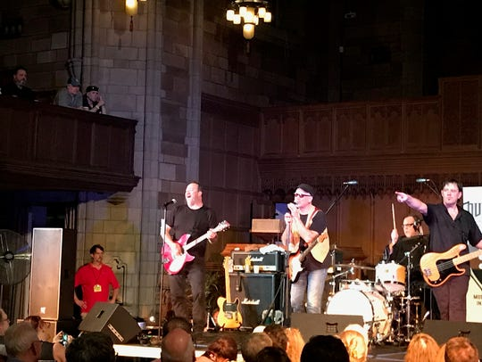 The Smithereens with Marshall Crenshaw on vocals at