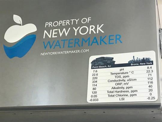 The New York WaterMaker at Joe Leone's Italian Specialites