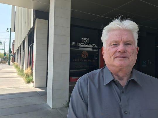 Fletcher McCusker runs the Rio Nuevo downtown- Tucson revitalization district.