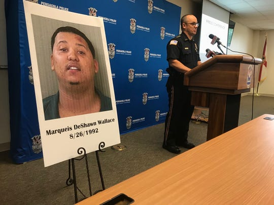 Pensacola Police Department has identified Markquise Deshawn Wallace as the suspect involved in a fatal hit-and-run on Cervantes Street on June 6, 2018.