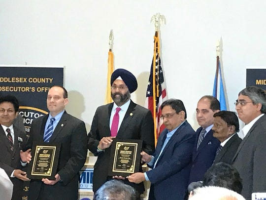Middlesex County Prosecutor Andrew Carey and New Jersey