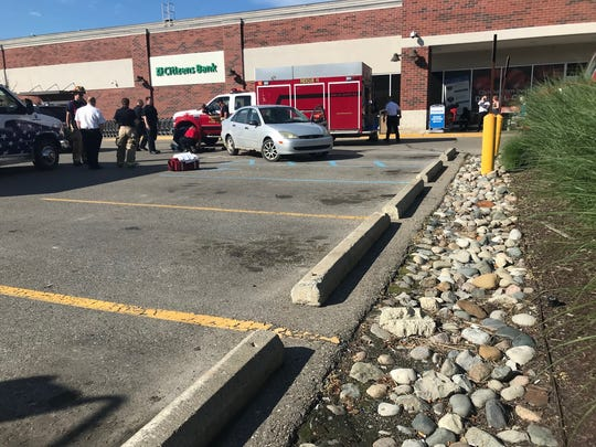 Firefighters and police were called to Hamburg Township