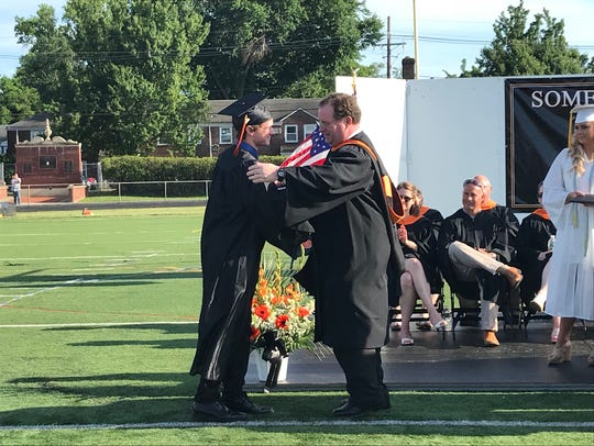 Somerville High School held graduation exercises for