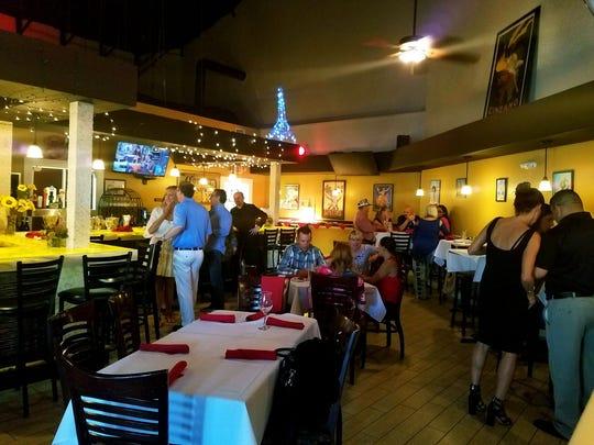 Dining area of Josephine's Cafe & Bistro at  3714 S.E. Ocean Boulevard  in Stuart