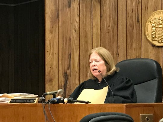 "Judge Marilyn C. Clark said she's ""convinced"" Martinez"