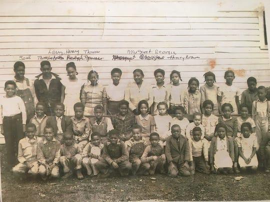Georgia Harris and her classmates attended Lee Buckner