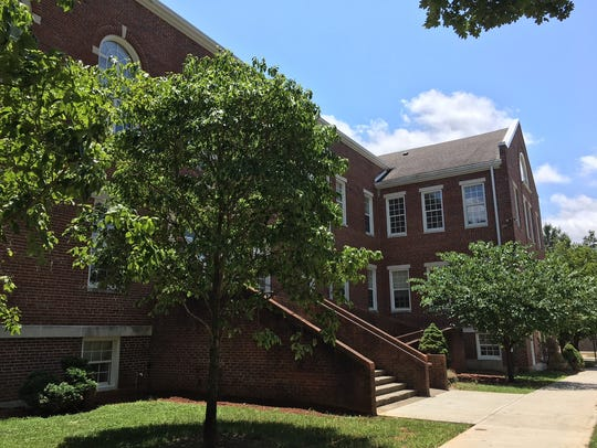 The Ward Building at Tennessee School for the Deaf