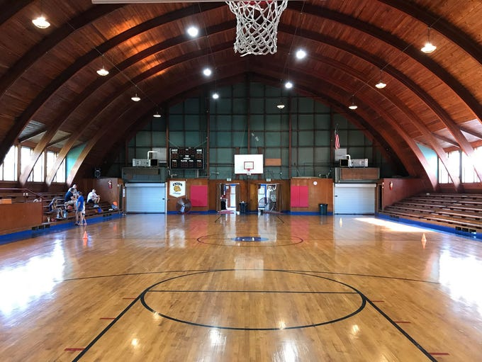 The gym in Pleasantville is one of the most unique