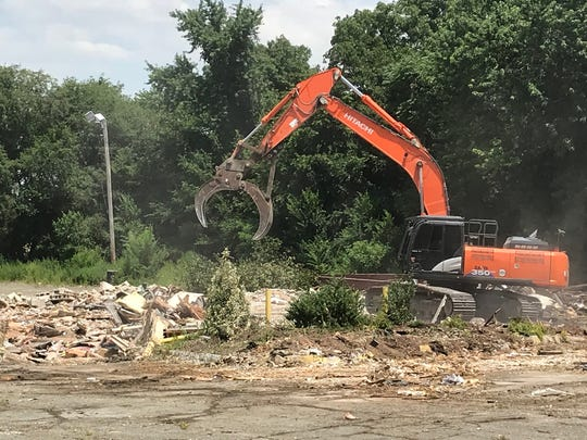 The Peterpank Diner on Route 9 in Sayreville was demolished