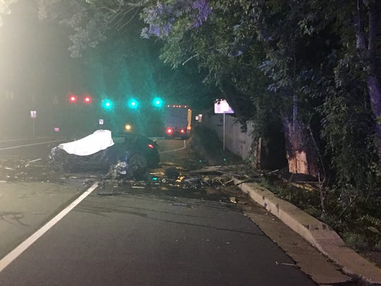 State police are investigating the crash that happened around 3:30 a.m. Monday on northbound Concord Pike in the area of Rocky Run Parkway.