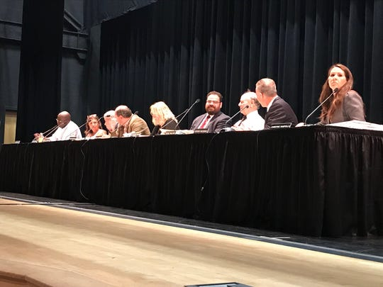 Tuesday's continuation of a Zoning Board of Adjustment