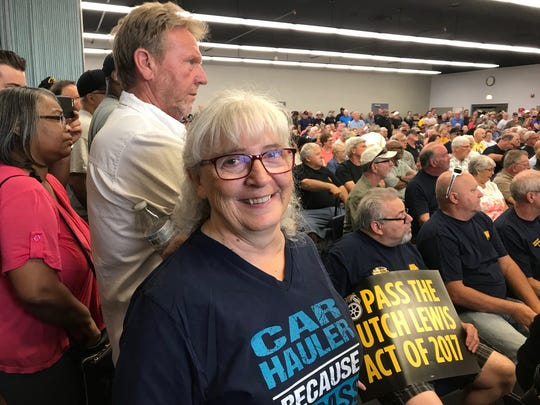 Marsha Rarick, 66, used to haul new Jeeps out of Toledo. Now she worries about the financial fallout if her pension fund becomes insolvent in a few years.