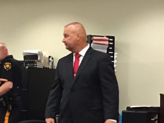 Former Piscataway Police Officer Todd Ritter.