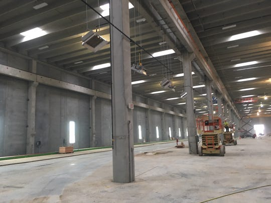 A look inside the the $40 million Gage Brothers precast concrete manufacturing facility under construction in northeast Sioux Falls.