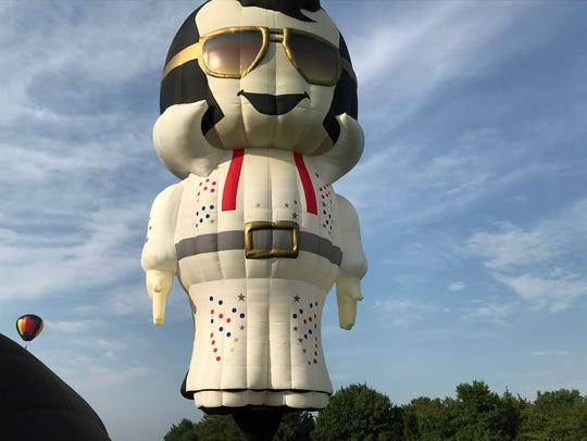 New Elvis balloon at the QuickChek New Jersey Festival