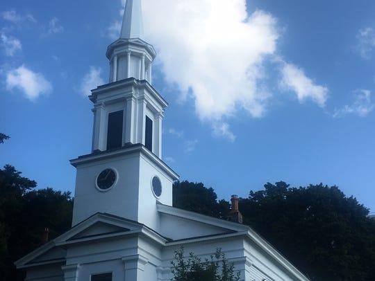 Peekskill Presbyterian Church on South Street, photographed