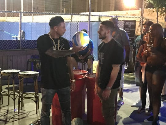 Pauly D and Vinny play ball at the Headliner in Neptune