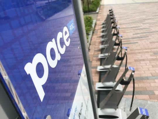 The Pace bike-share program will begin its third year in Rochester April 1, 2019.