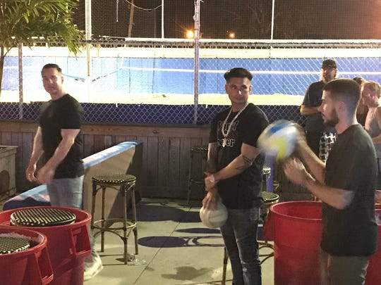 The Situation, Pauly D and Vinny play ball at the Headliner