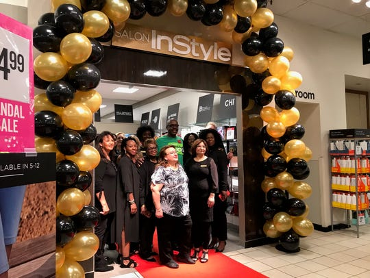 JCPenney unveiled the Salon by Instyle at its store