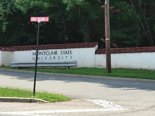 Intersection of Yogi Berra Drive and Valley Road, In Clifton. It is currently a one-way street and entrrance into the university. Montclair State wants to make it a two-way street. There is a dispute over whether the university needs the approval of both planning boards of the city of Clifton and Passaic County because of traffic safety concerns.