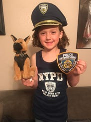 Morgan Blann of Brick wants to be a K-9 handler and